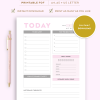 Daily Planner | Planner Printables by Bo Paperly + Co. Studio
