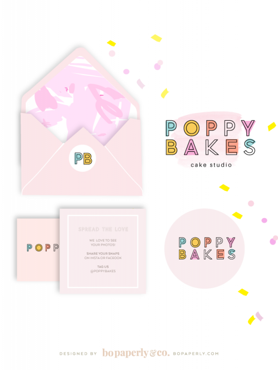 Premade Logo Design | | Planner Printables by Bo Paperly & Co. Studio